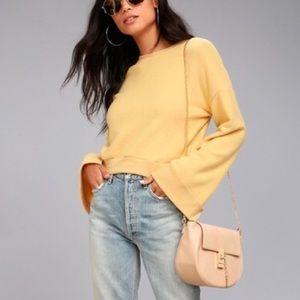 Nordstrom Bell Sleeve Sweater